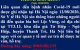 Tin trong nước - Hà Nội thông báo khẩn tìm người đến quán bia hơi Lộc Vừng
