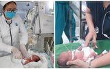 Sức khoẻ - Làm đẹp - Cứu sống trẻ sinh non 0,8kg, bị viêm phúc mạc do thủng tạng