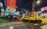 Tin trong nước - Tin tai nạn giao thông mới nhất ngày 15/8/2020: Nữ tài xế 23 tuổi lái camry húc hàng loạt xe máy có những lỗi gì?
