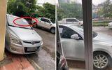 """Đậu xe không đúng chỗ rồi rời đi, tài xế """"tái mặt"""" với dòng chữ viết trên tờ giấy dán nơi kính xe"""