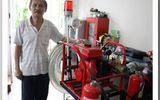 Chuyện chế tạo xe cứu hỏa mini và dang dở ý tưởng ca nô chữa cháy của một kỹ sư