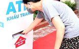 """TP Hải Dương: Cây """"ATM"""" khẩu trang đầu tiên được đi vào hoạt động"""