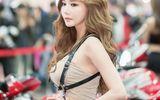 Ngất ngây trước vẻ đẹp quyến rũ của người mẫu xứ Hàn bên siêu xe