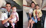 """Cơ trưởng trẻ nhất Việt Nam khoe ảnh """"before - after"""", nụ cười má lúm hút hồn hàng triệu fan nữ"""