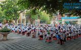 Cận cảnh buổi tựu trường đầu tiên của 207 học sinh ở ngôi trường đặc biệt nhất Thủ đô Hà Nội