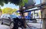 Xế hộp tông gãy cột điện gắn trạm biến áp, hơn 1.000 hộ dân bị cắt điện tạm thời