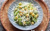 Dẻo thơm, hấp dẫn món xôi lá dứa hạt sen cốt dừa