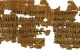 Mảnh giấy cói 3.500 năm tuổi tiết lộ cách các phụ nữ Ai Cập cổ đại thử thai