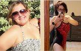 Không ngồi vừa ghế máy bay, cô gái quyết tâm giảm gần 60kg