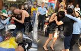 Vụ cô gái đi xe sang LX570 bị đánh ghen trên phố: Công an tìm 3 số điện thoại những người liên quan