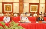 Tin trong nước - Bộ Chính trị làm việc với Ban Thường vụ Thành ủy Hà Nội