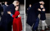 """Hai nhóc tì được Tổng thống Trump âu yếm gây chú ý, chiếm trọn """"spotlight"""" tại sự kiện lớn"""