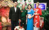 """Tin tức giải trí - MC Quyền Linh, Ngọc Lan xúc động vì cuộc hôn nhân """"đặc biệt của người vợ chiến sĩ đặc công"""