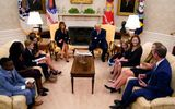Tin thế giới - Chân dung người phụ nữ được Tổng thống Trump đề cử cho Tòa án Tối cao Mỹ