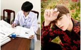 Chuyện học đường - Nam sinh trường Y nổi như cồn sau clip mặc áo blouse, đẹp trai chẳng kém gì các idol Hàn Quốc