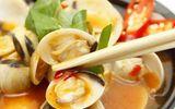 Ăn - Chơi - Nghêu hấp Thái cay cay, chua ngọt, ăn ngày thu vô cùng hợp