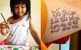 """Dòng chữ nguệch ngoạc đầu đời của con gái được bố xăm lên tay, ai đọc cũng phải """"lịm tim"""""""