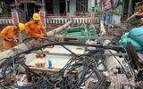 """Vụ hàng trăm cột điện bị """"hạ gục"""" vì bão số 5: Bộ Xây dựng đánh giá nguyên nhân sự cố"""