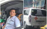 """Hé lộ dòng thông điệp """"lạ"""" phía sau xe chở bệnh nhân miễn phí của ông Đoàn Ngọc Hải"""