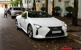 """""""Hàng hiếm"""" Lexus LC500 bất ngờ xuất hiện cùng dàn xe khủng tại Hà Nội"""