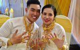 """Sau đám cưới """"khủng"""", cặp đôi nhận 2,5 tỷ đồng hồi môn cùng 49 cây vàng vẫn chưa hết """"hot"""""""