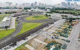 Hà Nội: Công nhân khẩn trương tháo dỡ các hạng mục của đường đua F1 sau gần 7 tháng tạm hoãn