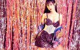 Lynk Lee diện váy lấp lánh khoe đường cong mỹ miều mừng tuổi mới