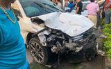"""Vụ xe """"điên"""" đâm liên hoàn 10 phương tiện, 1 người chết ở Hà Nội: Tài xế 18 tuổi có nồng độ cồn trong máu, chưa có GPLX"""