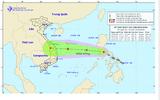 Áp thấp nhiệt đới vào biển Đông, có khả năng mạnh thành bão cấp 10