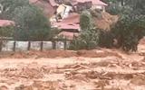 Hiện trường kinh hoàng vụ sạt lở núi nghi vùi lấp 22 cán bộ, chiến sĩ ở Quảng Trị