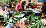 Tin trong nước - Hà Nội: Người dân La Phù hối hả nấu cả nghìn chiếc bánh chưng ủng hộ cho miền Trung