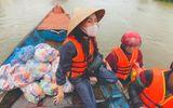 Chuyện làng sao - Thủy Tiên kêu gọi quyên góp được hơn 100 tỷ sau một tuần, đang tìm cách ra Hà Tĩnh