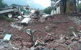 Tin trong nước - Hiện trường vụ sạt lở núi, đổ sập trụ sở Đồn Biên phòng cửa khẩu Cha Lo