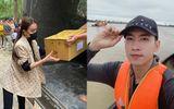Chuyện làng sao - Minh Tú, Huỳnh Vy quyên góp tiền, Trà Ngọc Hằng - Võ Cảnh về miền Trung cứu trợ đồng bào