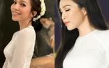 """Tin tức giải trí - Hiền Thục tiết lộ bí quyết để mặc áo dài """"đẹp như hoa hậu"""""""