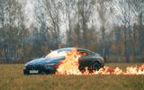 """Ôtô - Xe máy - Xế sang tiền tỷ Mercedes-AMG GT 63S bị thiêu rụi bởi """"khá bảnh bản quốc tế"""""""