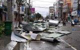 Tin trong nước - Bão số 9 suy yếu thành áp thấp nhiệt đới, miền Trung mưa lớn