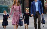 Hoàng tử, công chúa nhỏ nhà Công nương Kate được xưng hô ra sao khi tới trường?