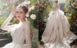 Cận cảnh 3 mẫu váy cưới lộng lẫy như công chúa của hotgirl Xoài Non
