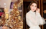 Tin tức giải trí - Ngọc Trinh trang hoàng biệt thự 40 tỷ đón Giáng sinh, lộng lẫy từng chi tiết khiến người xem lóa mắt