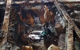 Tin trong nước - Đào móng công trình, phát hiện quả bom nặng hơn 300 kg chưa nổ ở Hà Nội