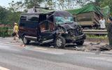 Tin trong nước - Xe Limousine tông ô tô đầu kéo trên cao tốc: Nữ cán bộ Tỉnh ủy Yên Bái tử vong