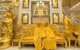 Cộng đồng mạng - Choáng ngợp trước ngôi nhà dát vàng ở Cần Thơ: Có ngai vàng hóa thân thành vua chúa
