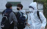 Giáo dục pháp luật - Học sinh Hàn Quốc mặc đồ bảo hộ, tự tin bước vào kỳ thi đại học khốc liệt