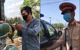 """An ninh - Hình sự - Xác minh clip """"sếp can thiệp gỡ xe vi phạm"""" lan truyền trên mạng xã hội"""