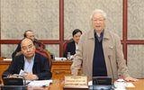 Tổng Bí thư, Chủ tịch nước chủ trì họp tiếp thu ý kiến hoàn thiện các dự thảo văn kiện của Đảng
