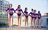 """Các thí sinh Hoa hậu Thái Lan """"thả dáng"""" nóng bỏng trong phần thi áo tắm"""