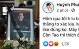 """""""Câu like"""" từ đám tang của nghệ sĩ Chí Tài, gymer khiến dàn sao Việt """"dậy sóng"""""""