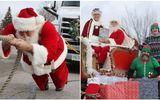 """""""Ông già Noel"""" kéo xe tuần lộc nặng hơn 16 tấn, lập kỷ lục Guinness"""