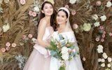 """Á hậu Thùy Dung nói gì khi bị hỏi """"chuyện chồng con"""" trong đám cưới chị gái?"""